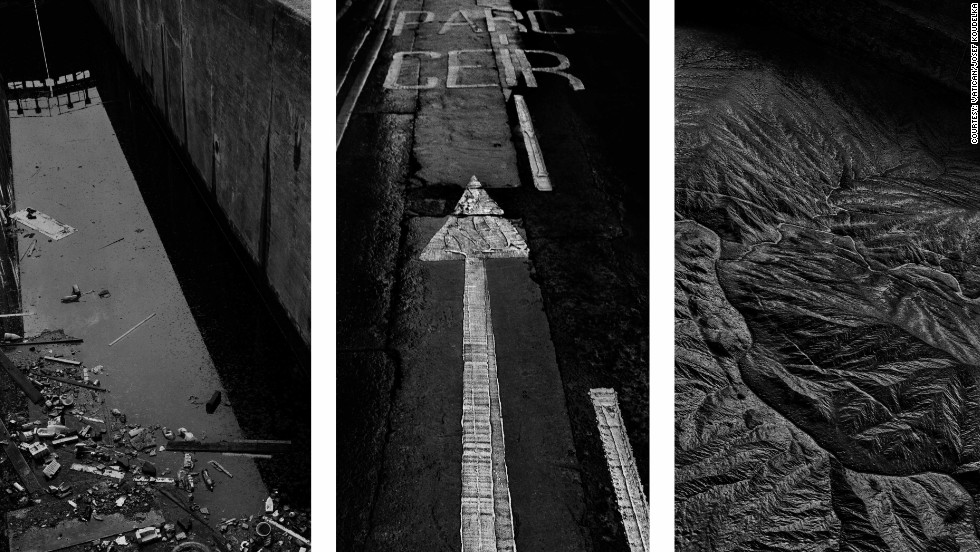 "Czech-French photographer Josef Koudelka has combined a series of his works as a meditation on ""Un-Creation"" or destruction, based around the biblical story of the flood."