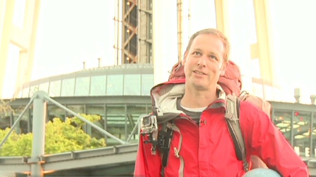 Man killed on 10,000-mile charity hike
