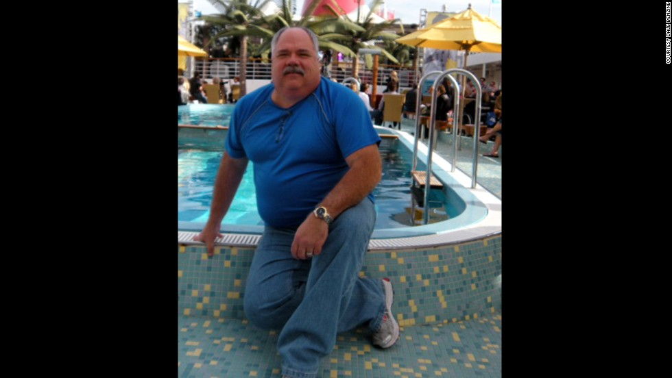 At his heaviest, in January 2012, Benzine weighed 335 pounds. He was taking 10 pills a day for high blood pressure, high cholesterol and joint pain, in addition to insulin shots for his Type 2 diabetes.