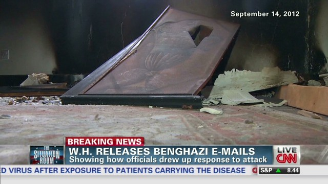 White House releases Benghazi e-mails