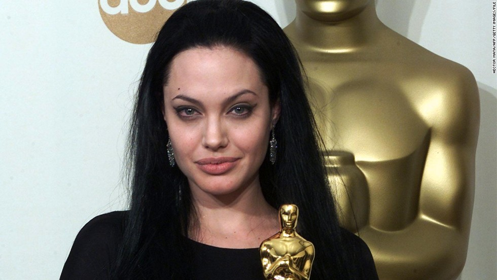 "In 2000, Jolie won the best supporting actress Oscar for her role in ""Girl, Interrupted."""