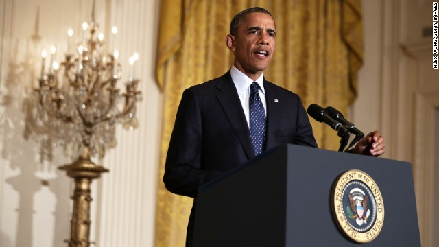 President Obama speaks Wednesday about the IRS scandal.