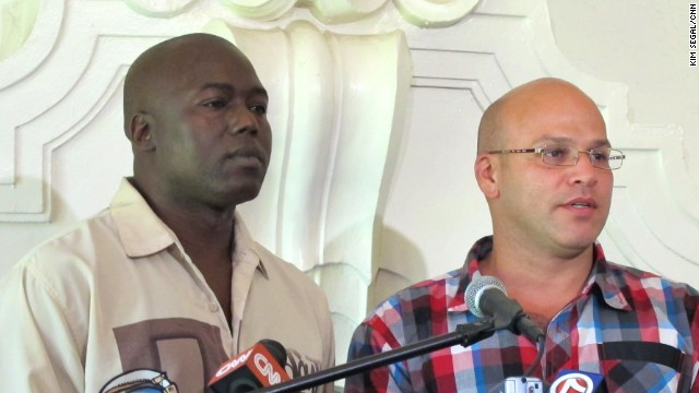 Herman Lindsey, left, and Seth Penalver were exonerated after spending years on Florida's death row.