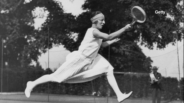 The first diva of women's tennis