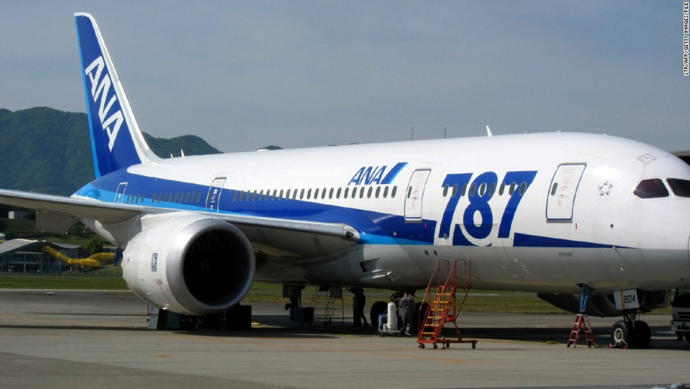 The Dreamliner 787-8 got off to a rough start. In January 2013, this All Nippon Airways 787 made an emergency landing because of battery troubles. It was one of several problems encountered by the aircraft, and subsequently the FAA ordered the entire 787 fleet to be grounded, while fixes to the battery system were made. The fleet started flying again in April 2013.