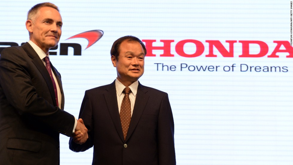 After a four-year absence from F1, Honda announced it will renew its relationship with McLaren by supplying engines to the British team in 2015.