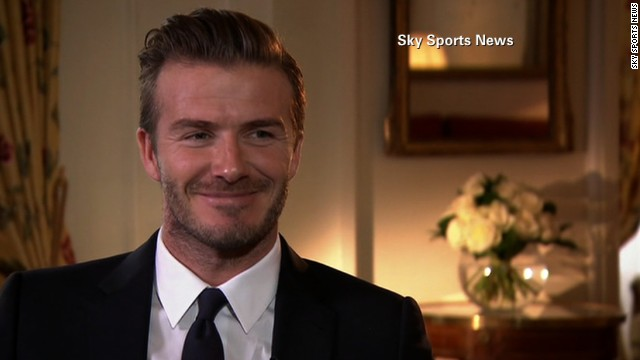 Beckham: I want to go out on top