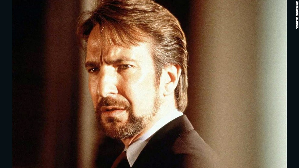 "Bruce Willis' John McClane has outlasted plenty of bad guys throughout the ""Die Hard"" franchise, but the original baddie is still the best. Alan Rickman's portrayal of German terrorist leader Hans Gruber in 1988's ""Die Hard"" is classic."