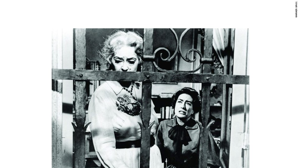 "The makeup alone could give you chills. Bette Davis' work as the dangerously delusional ""Baby"" Jane Hudson in 1962's ""What Ever Happened to Baby Jane?"" set a new standard for sibling rivalry, as Joan Crawford played her tortured sister, Blanche."