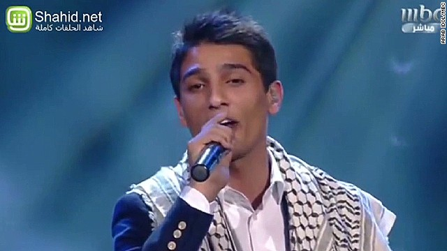 'Arab Idol' finalist sings