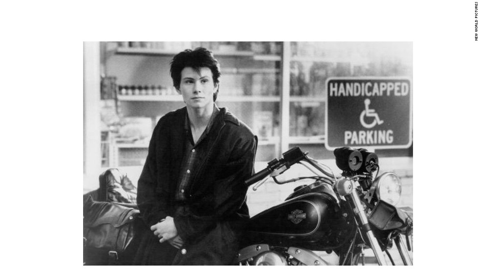 "Christian Slater was the twisted boyfriend every high school girl wanted by her side when 1988's ""Heathers"" was released. As J.D., the beau of Winona Ryder's Veronica, he helps her take down a clique of nasty girls in gruesome ways."