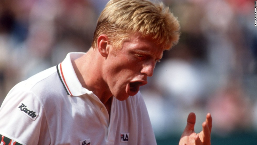 Three times Boris Becker reached the semifinals of the French Open, but each time he was soundly beaten to leave him one title short of the famous career grand slam.