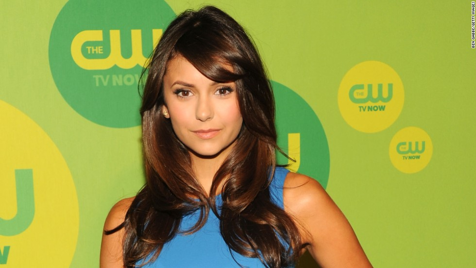 """Vampire Diaries"" actress Nina Dobrev attends The CW's upfront presentation in New York on May 16."