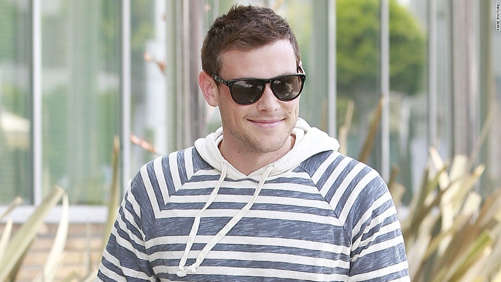 Cory Monteith out and about in Hollywood, California on May 17.