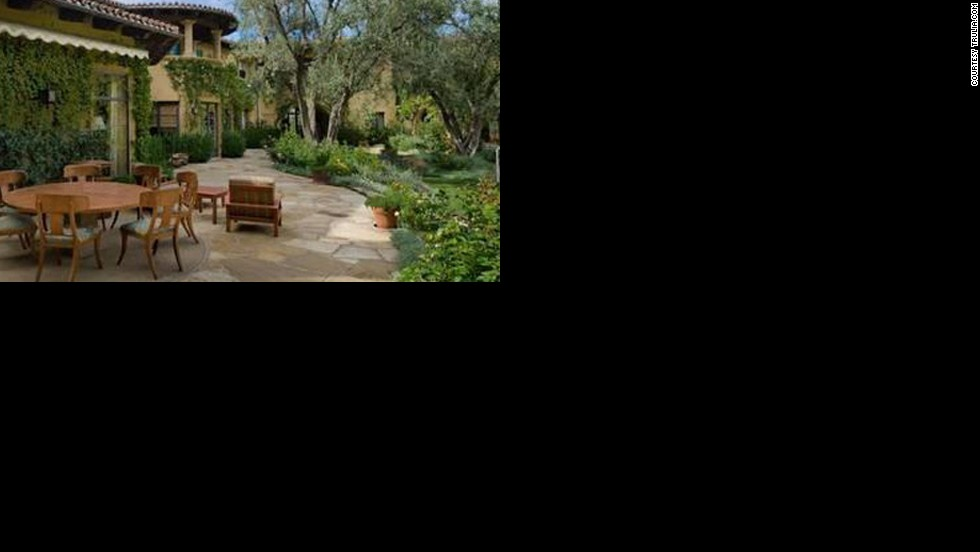 "Let's hope Christina Aguilera gets her money's worth out of this amazing patio outside her <a href=""http://luxe.truliablog.com/2013/04/15/christina-aguilera-beverly-hills-mansion/"" target=""_blank"">$10 million home in Beverly Hills.</a>"