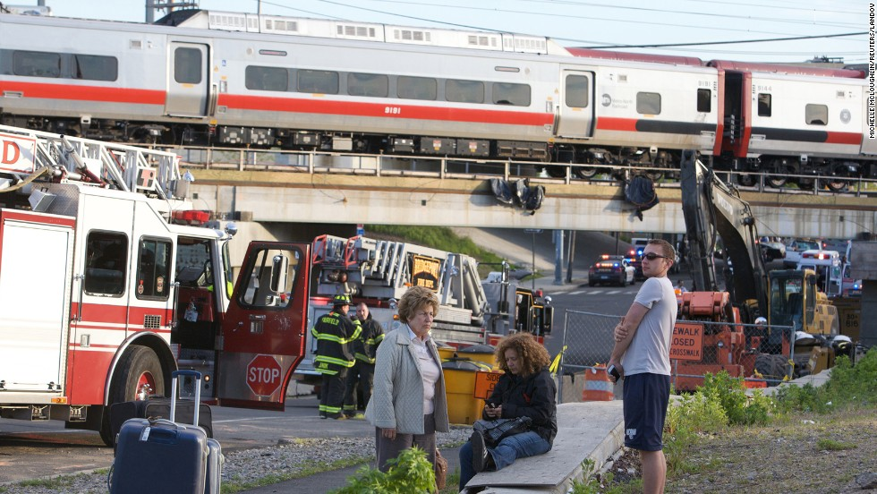 Both trains were damaged and dozens were injured, though officials say the injuries aren't believed to be life-threatening.