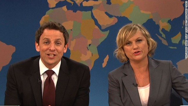 """SNL"" weekend update Really!?! with Seth and Amy: May 18th 2013"