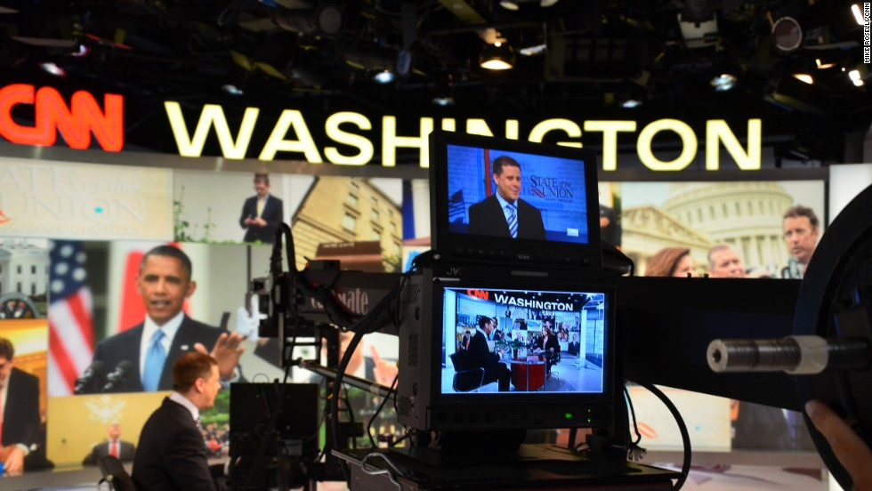 A peek behind the camera of Candy's interview with White House Senior Adviser Dan Pfeiffer.