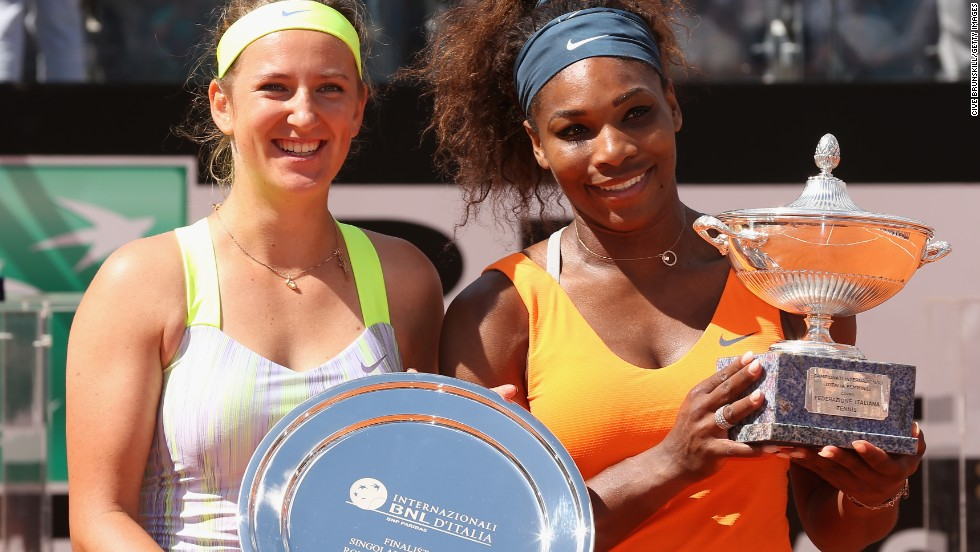 Victoria Azarenka had to settle for the runners-up shield after another fine performance from Williams in the final.