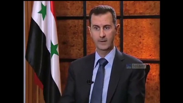 Al-Assad: I'll consider talks, but ...