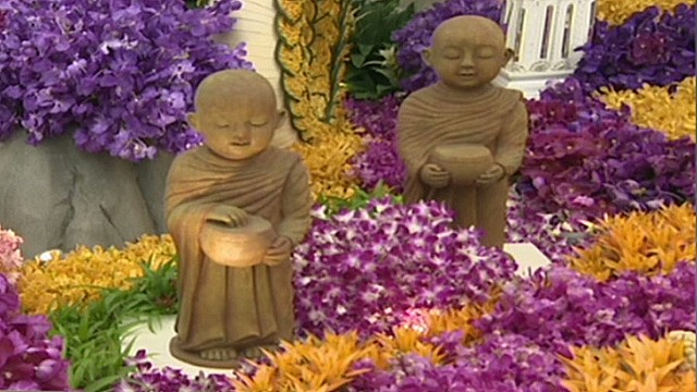 Chelsea flower show turns 100 cnn - Royal flower show ...