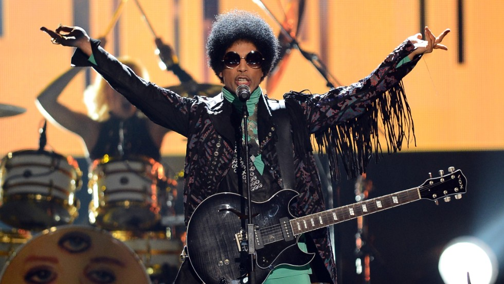 Prince performs onstage at the 2013 Billboard Music Awards at the MGM Grand Garden Arena in Las Vegas on Sunday, May 19.