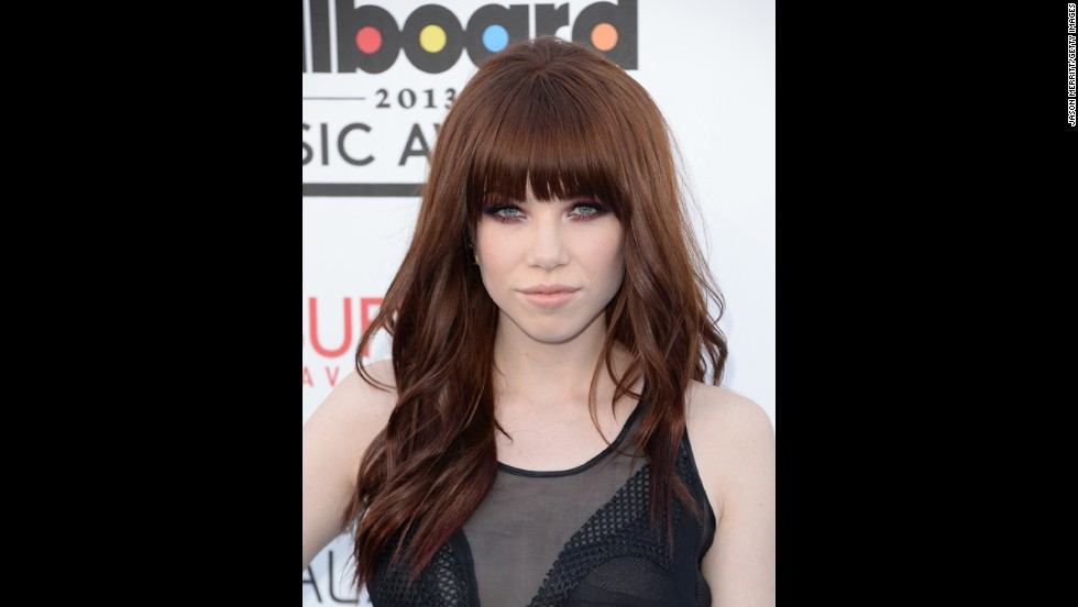 Carly Rae Jepsen arrives.