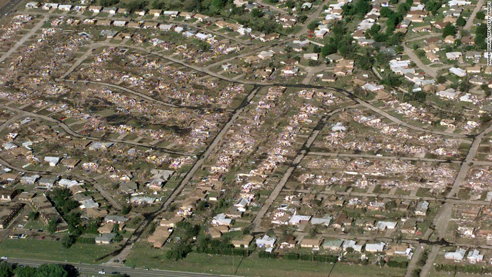 Oklahoma City Was Hammered By Ef5 Tornado In 1999 Cnn