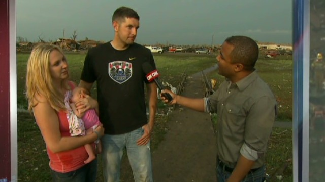 Tornado victim: We just finished nursery