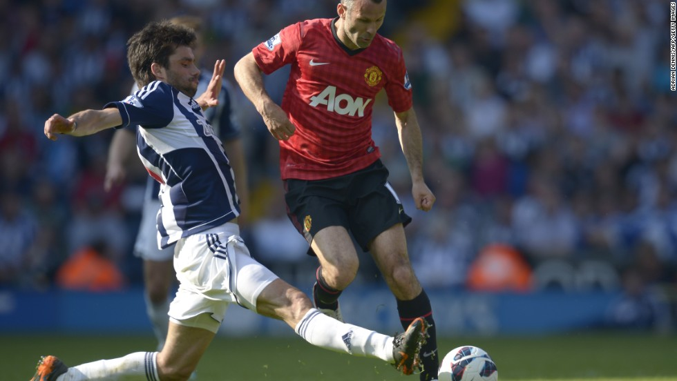 But Yacob's move to West Brom raises questions about the influence of unlicensed agents in football transfers. Yacob is pictured here playing for West Brom in their final league game of the season against English Premier League champions Manchester United, which ended in a 5-5 draw.