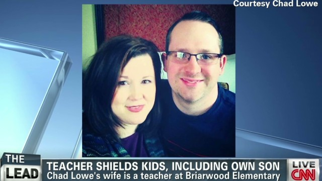 Teacher shielded students from tornado
