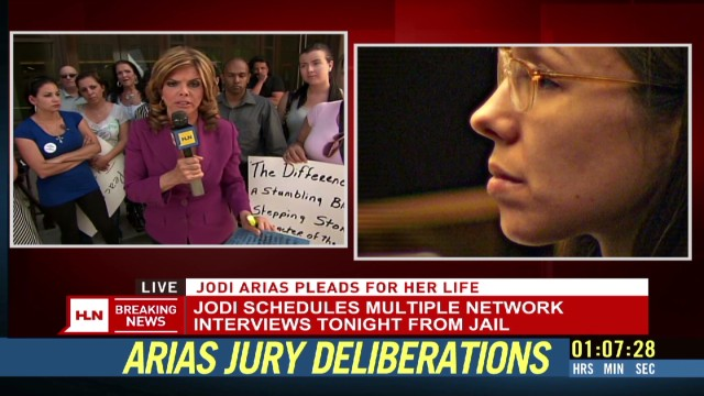 Jodi Arias' media tour