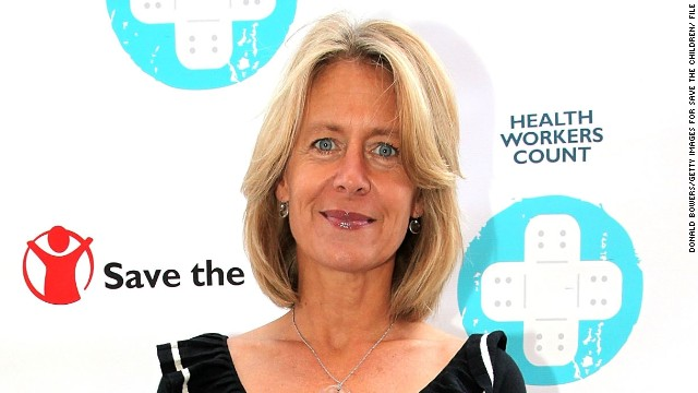 Jasmine Whitbread, the first international chief executive of Save the Children