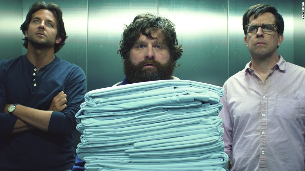 """The Hangover Part III,"" starring Bradley Cooper, Zach Galifianakis and Ed Helms, brought the trilogy to a clanking finish. The film earned just 19% approval and $112 million domestically. The latter figure may seem good until you realize the first two films topped $250 million each."
