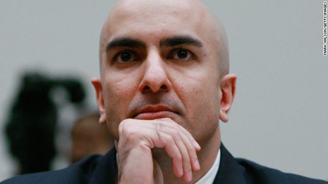 Neel Kashkari, California Republican, will not run for the U.S. Senate in 2016.
