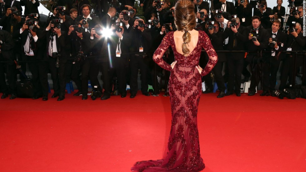 "U.K. singer Cheryl Cole attends the Cannes screening of ""Jimmy P. Psychotherapy of a Plains Indian."""