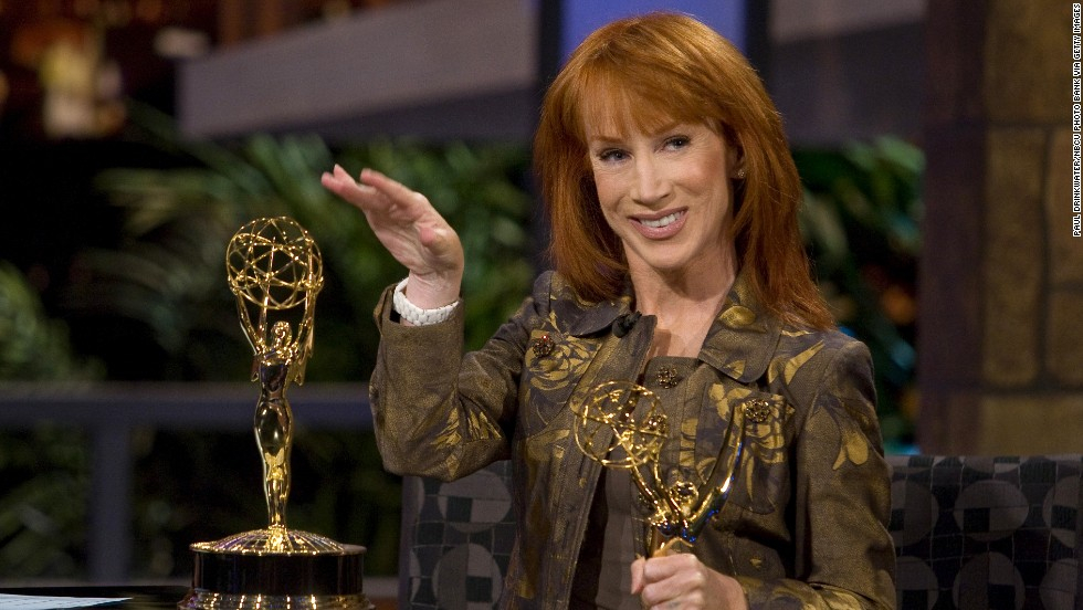 "Comedian Kathy Griffin, a self-described ""militant atheist,"" made her position clear with a controversial <a href=""http://transcripts.cnn.com/TRANSCRIPTS/0709/17/lkl.01.html"">Emmy Award acceptance speech in 2007</a>. ""A lot of people come up here and they thank Jesus for this award,"" she said. ""I want you to know that no one had less to do with this award than Jesus. He didn't help me a bit. ... So all I can say is, suck it, Jesus. This award is my god now."""
