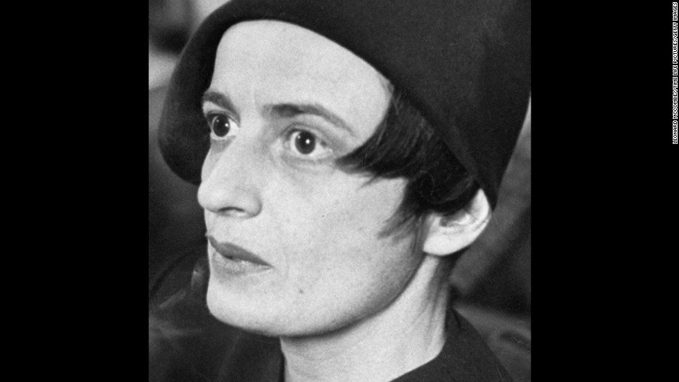 "Ayn Rand, author of ""The Fountainhead"" and ""Atlas Shrugged,"" was an atheist and an opponent of religion. In her book ""<a href=""http://books.google.com/books?id=OsCSArJxIRwC"" target=""_blank"">The Voice of Reason</a>,"" she criticized President Ronald Reagan and his administration for trying ""to take us back to the Middle Ages, via the unconstitutional union of religion and politics."" She died in 1982 at age 77."