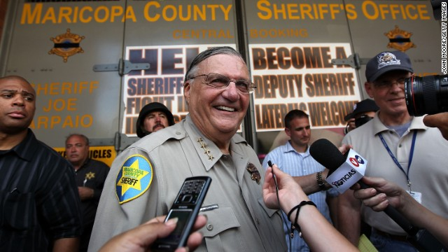 Judge says Sheriff Arpaio was profiling