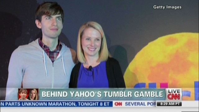 Behind Yahoo's Tumblr gamble