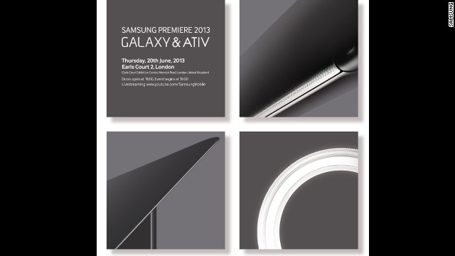 Samsung is holding a June 20 event in London where news about its Galaxy and Windows-based lines will be announced.