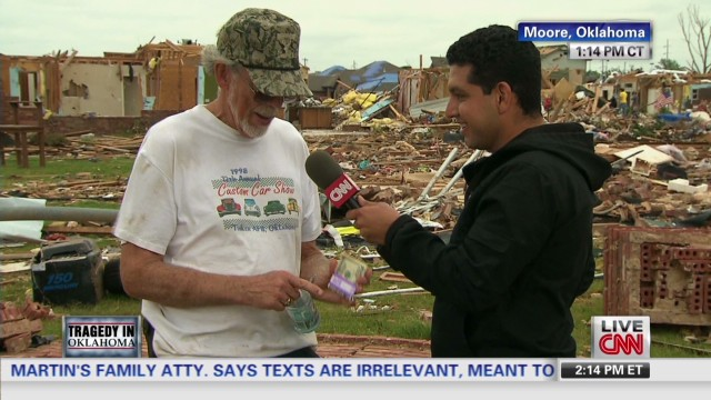 Tornado survivor finds missing $2,000