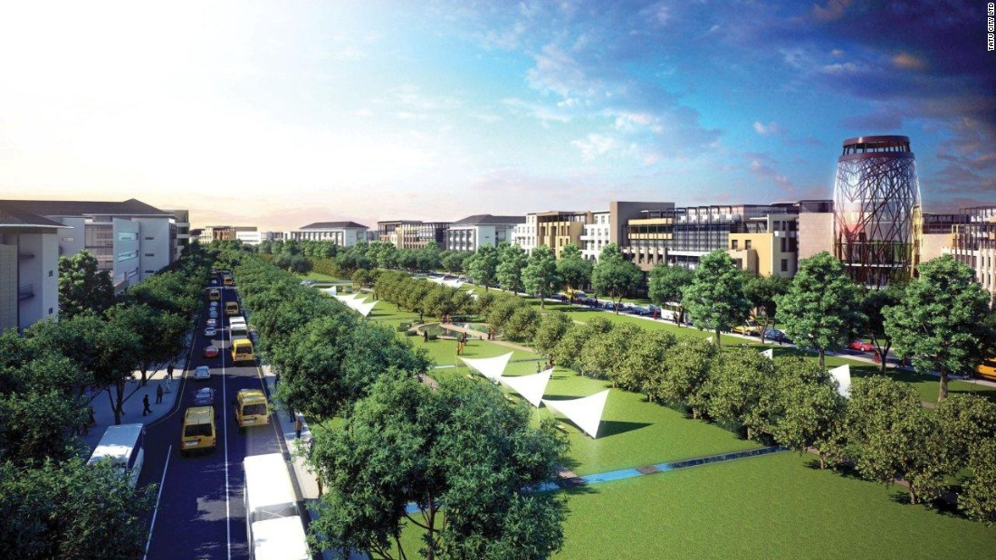 "A new mixed-use development for more than 150,000 residents, Tatu City was initiated by Rendeavour, ""Africa's largest property developer."" It's a 5,000 acre mixed-use development with schools, homes, sports facilities and green spaces."