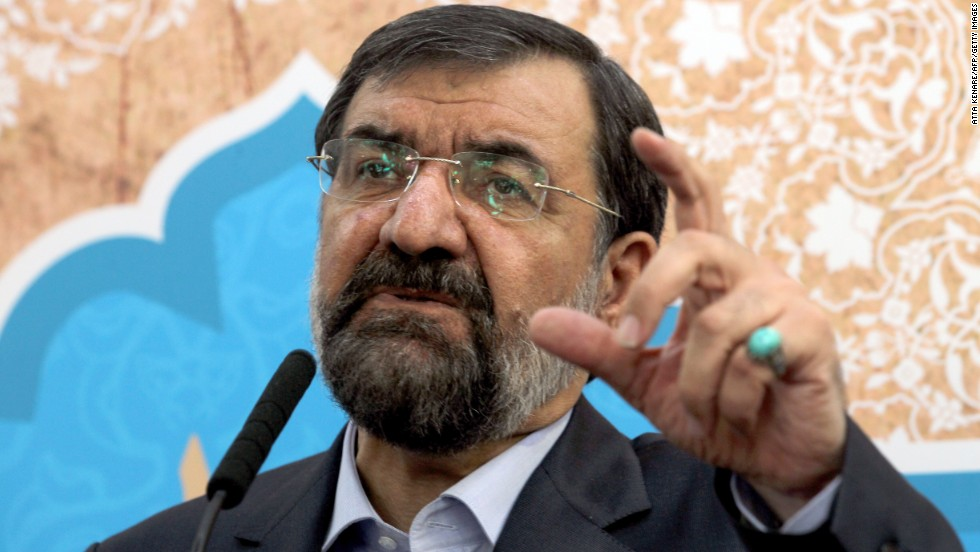 Mohsen Rezaei is currently a member of the Expediency Council and was Iran's top commander during the war with Iraq.