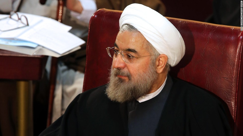 Hassan Rouhani is head of the Center for Strategic Studies and Iran's chief nuclear negotiator under former President Mohammad Khatami.