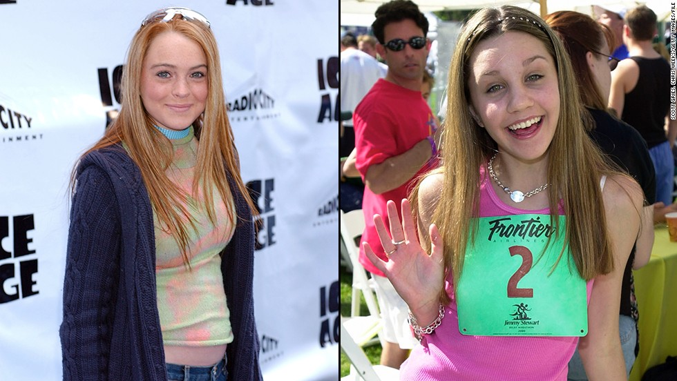 "Both broke out as child stars, Lohan as the star of 1998's ""The Parent Trap"" and Bynes as a regular on the late 1990s Nickelodeon show ""All That"" and later star of that network's ""The Amanda Show."""