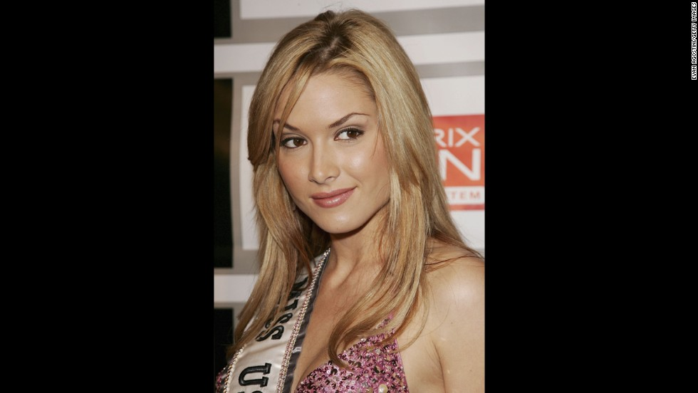 "<a href=""http://transcripts.cnn.com/TRANSCRIPTS/1302/27/sbt.01.html"">Tara Conner</a> almost lost her 2006 Miss USA title over substance abuse and rehab, and she came clean after her wild partying made national headlines. She was allowed to keep her crown."