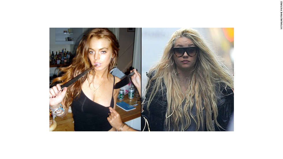 "Both are given to some decidedly bizarre antics. In 2007, photos surfaced of Lohan making sexy mugs while <a href=""http://www.thesuperficial.com/lindsay_lohan_plays_with_knive-06-2007"" target=""_blank"">playing with knives </a>and holding one to the throat of friend actress Vanessa Minnillo. Recently Bynes <a href=""http://www.nydailynews.com/entertainment/gossip/amanda-bynes-chrissy-teigen-old-ugly-model-article-1.1357515"" target=""_blank"">tweeted that she is far prettier than model Chrissy Teigen</a> and also revealed that she <a href=""http://www.eonline.com/news/414697/amanda-bynes-has-almost-completed-her-transformation-into-stripper-blac-chyna"" target=""_blank"">is aiming to look like hip hop cover girl Blac Chyna</a> (yeah, we don't get it either)."