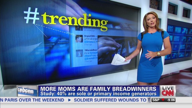 More moms are family breadwinners