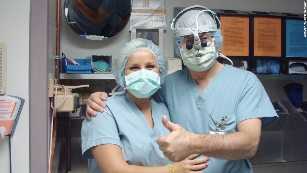 Goldstein in 2008 with Dr. Joanna Korda, a young urologist from Germany who performed a fellowship in sexual medicine with Goldstein in Boston and another in San Diego.